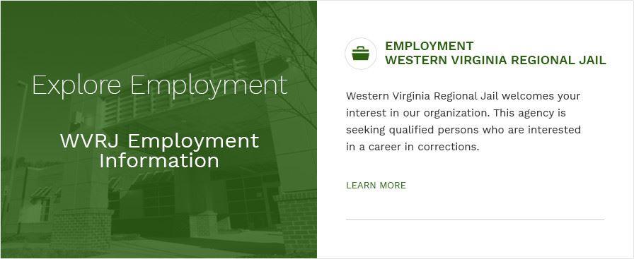 Inmate Name Search | Western Virginia Regional Jail, VA