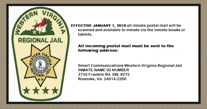 Inmate Name Search | Western Virginia Regional Jail, VA
