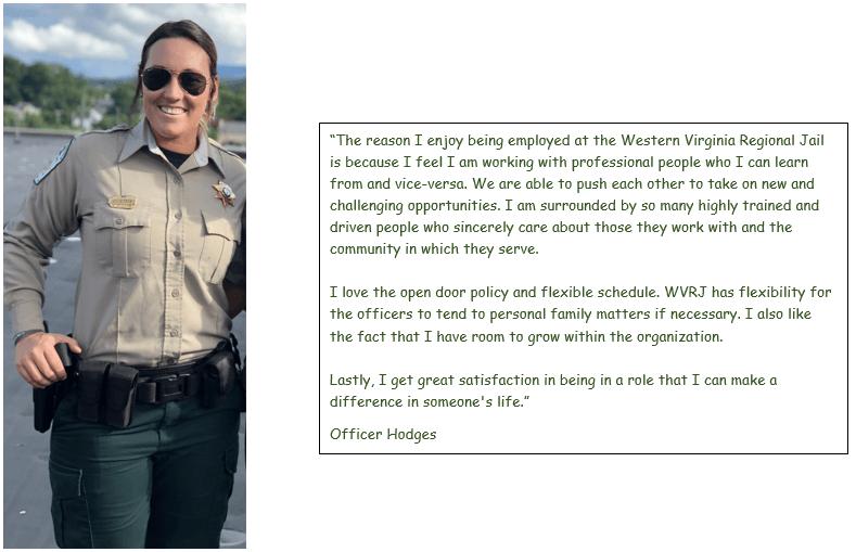 About Us Bio Page   Western Virginia Regional Jail, VA
